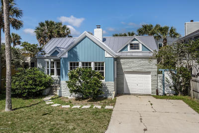 Atlantic Beach Single Family Home For Sale: 838 Ocean Blvd