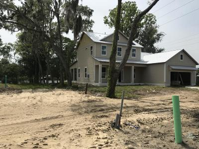 Fleming Island Single Family Home For Sale: Lot 3 Turkey Hill Rd