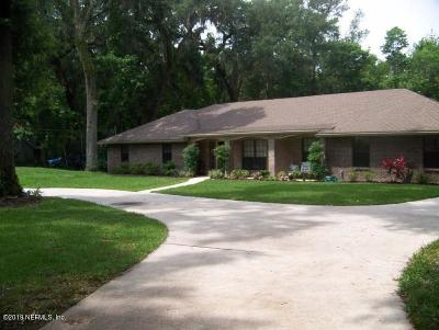 Jacksonville Single Family Home For Sale: 12898 Fernbank Ln