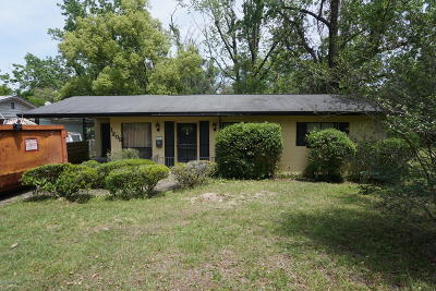 Single Family Home For Sale: 1209 Ribault River Dr