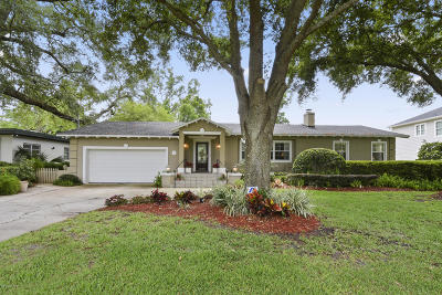 San Marco Single Family Home For Sale: 1064 Holly Ln