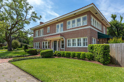 Jacksonville Single Family Home For Sale: 1872 Greenwood Ave