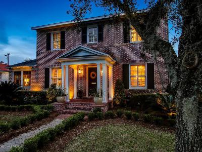 Jacksonville Single Family Home For Sale: 1320 River Oaks Rd