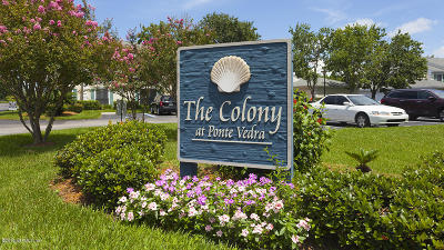Ponte Vedra Beach Condo For Sale: 96 Ponte Vedra Colony Cir
