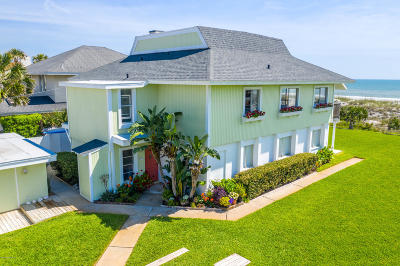 Neptune Beach Single Family Home For Sale: 622 Ocean Front