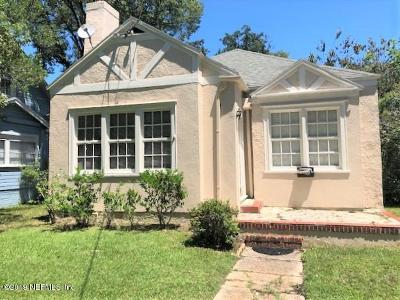 Single Family Home For Sale: 1427 Dancy St