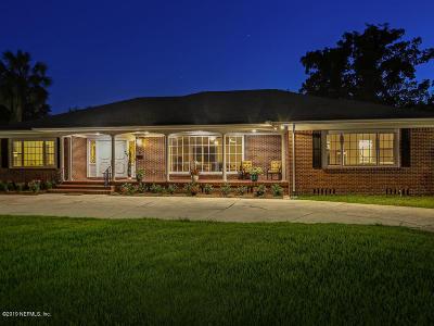 Jacksonville Single Family Home For Sale: 2330 Hendricks Ave