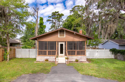 Single Family Home For Sale: 3210 St Augustine Rd