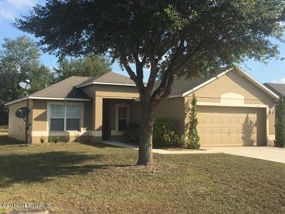 Macclenny Single Family Home For Sale: 739 Largo Ln