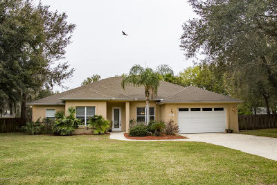 St Augustine Single Family Home For Sale: 3468 Kings Rd S