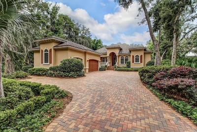 Fernandina Beach Single Family Home For Sale: 7 Marsh Hawk Rd