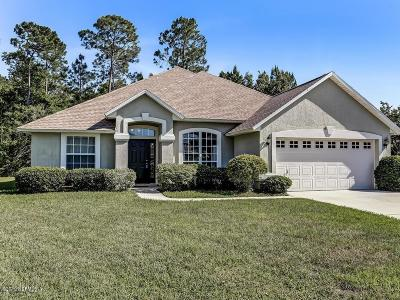Fernandina Beach Single Family Home For Sale: 96044 Waterway Ct