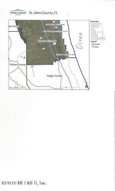 St. Johns County Residential Lots & Land For Sale: 10045 Flikkema Ave