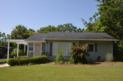 Jacksonville Single Family Home For Sale: 4444 Woodmere St