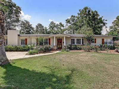 Jacksonville Single Family Home For Sale: 4289 Rapallo Rd