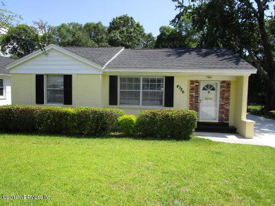 Jacksonville Single Family Home For Sale: 4326 Palmer Ave