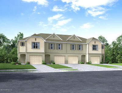 Clay County, Duval County, St. Johns County Townhouse For Sale: 761 Bent Baum Rd