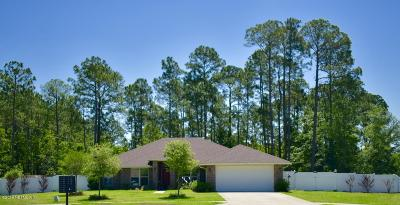 Yulee Single Family Home For Sale: 88002 Maybourne Rd