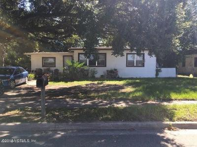 Jacksonville Single Family Home For Sale: 1803 Melson Ave