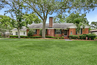 San Marco Single Family Home For Sale: 2525 Laurel Rd