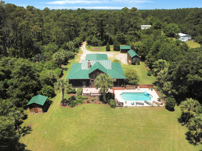 Jacksonville Single Family Home For Sale: 13385 Sawpit Rd