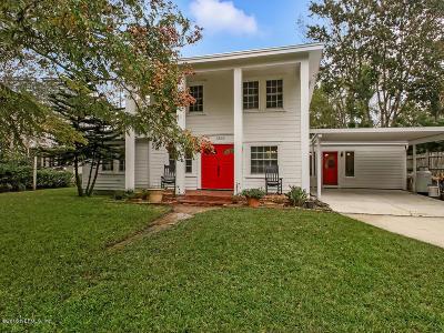 Jacksonville Single Family Home For Sale: 3893 Arden St