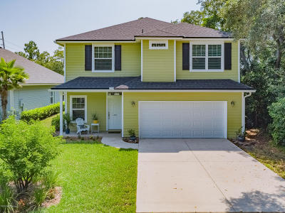 Jacksonville Beach Single Family Home For Sale: 4009 Palm Way