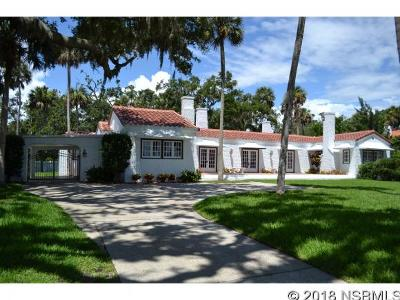 New Smyrna Beach Single Family Home Contingency: 636 Riverside Dr