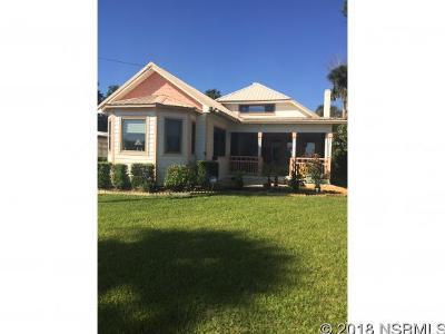 New Smyrna Beach Single Family Home For Sale: 1004 Riverside Dr