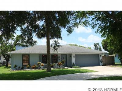 New Smyrna Beach Single Family Home For Sale: 43 Cunningham Dr