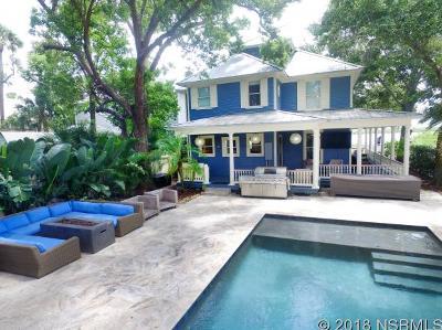 New Smyrna Beach Single Family Home For Sale: 426 Riverside Dr
