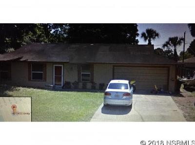 Edgewater Single Family Home For Sale: 2422 Unity Tree Drive