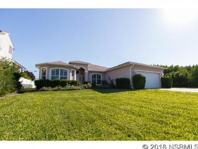 New Smyrna Beach Single Family Home For Sale: 4723 Atlantic Ave