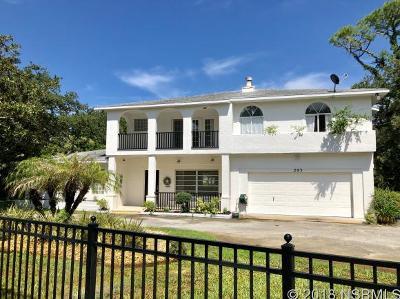 New Smyrna Beach FL Single Family Home For Sale: $643,000