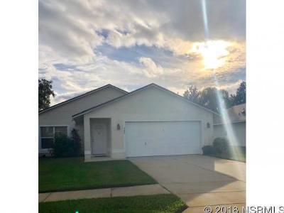 New Smyrna Beach FL Single Family Home For Sale: $249,000