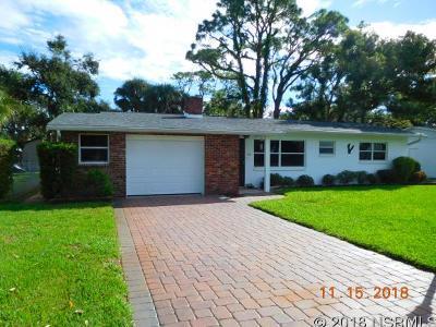 New Smyrna Beach FL Single Family Home For Sale: $350,000
