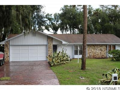Edgewater Single Family Home For Sale: 1811 Mango Tree Dr