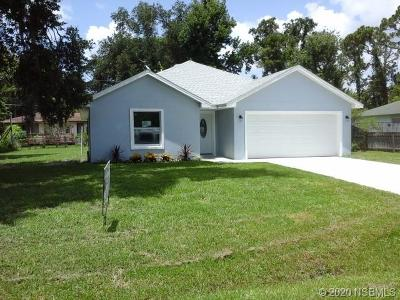 Edgewater Single Family Home For Sale: 2910 Tamarind Drive