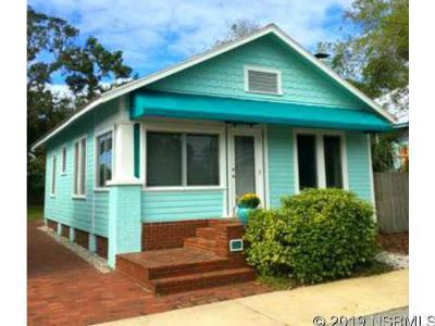 New Smyrna Beach Single Family Home For Sale: 206 Rush St
