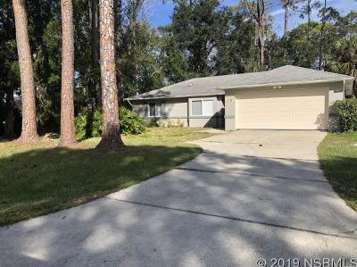 Edgewater Single Family Home For Sale: 2717 Tamarind Dr