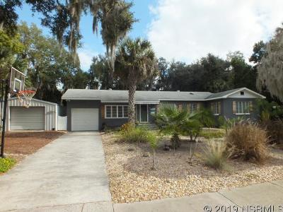 New Smyrna Beach Single Family Home For Sale: 1415 Live Oak St