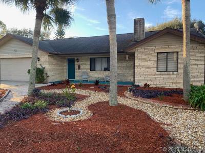New Smyrna Beach FL Single Family Home For Sale: $499,000