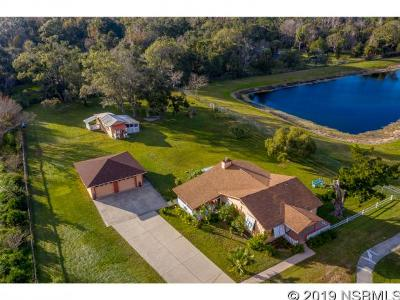 New Smyrna Beach Single Family Home For Sale: 730 Old Mission Rd
