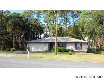 Edgewater Single Family Home For Sale: 117 Hazelwood River Rd
