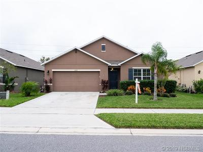 New Smyrna Beach FL Single Family Home For Sale: $237,000