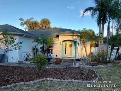 Edgewater Single Family Home Contingency: 2947 Needle Palm Dr