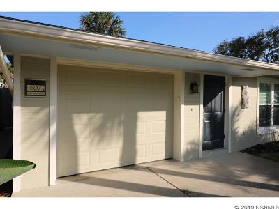 New Smyrna Beach Single Family Home For Sale: 807 Peninsula Ave