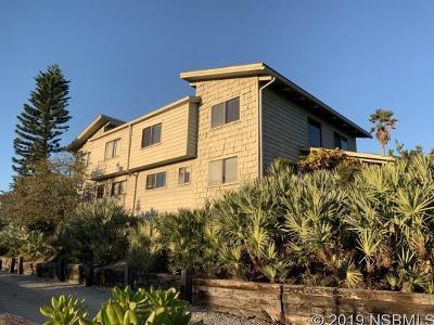 New Smyrna Beach Single Family Home For Sale: 4365 Atlantic Ave