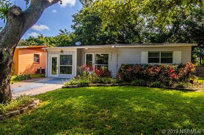 New Smyrna Beach Single Family Home For Sale: 3005 Saxon Dr