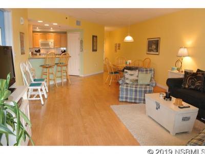 New Smyrna Beach Single Family Home For Sale: 5300 Atlantic Ave #4306